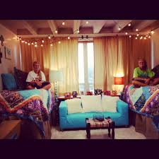 Dorm Decorations Pinterest by Where To Hang Curtains In The Dorm Other Than The Windows Dorm