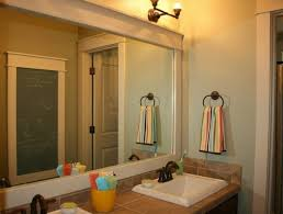bathroom white framed bathroom mirror ideas and also classic wall