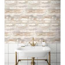 Peel Stick Wallpaper Distressed Wood Peel And Stick Wallpaper Decor Eonshoppee
