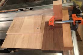 miter cuts on table saw making a jig for cutting miters and bevels