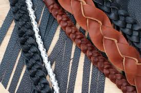 make leather woven bracelet images Making braided leather 7 steps with pictures jpg