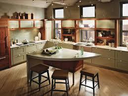 furniture modern white kraftmaid with white kitchen island and
