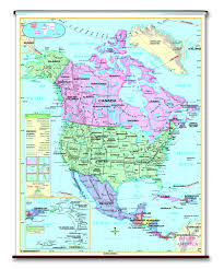 Eastern Hemisphere Map Spring Roller Wall Maps For Your Classroom