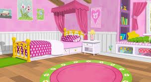 Cartoon Girls Bedroom Bedroom Ideas