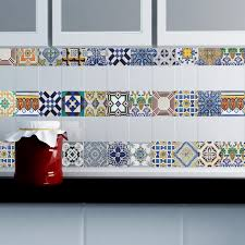 tile decals for kitchen backsplash portuguese tiles stickers amadora pack of 36 tiles tile decals