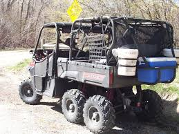 Polaris Ranger 6x6 With 4 Hole Ainley High Bench Sold Out