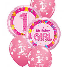 1st birthday balloon delivery foil and bouquet ace balloons