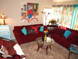 Living Room Wallpaper Scenery Living Room Chic Bohemian Living Room With White Wallpaper And