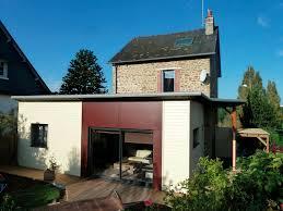 extension maison contemporaine derouet constructeur de maison bois en mayenne 53 expert en