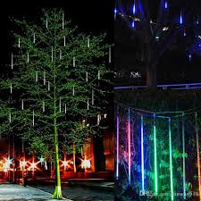 led meteor shower tube lights new led meteor shower rain lights drop icicle snow falling raindrop