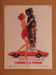 vintage ferrari art l u0027homme a la ferrari vintage movie poster at simondwyer com