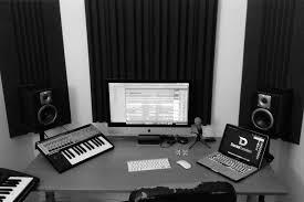 Desk Studio Monitor Stands by Home Studio Basics