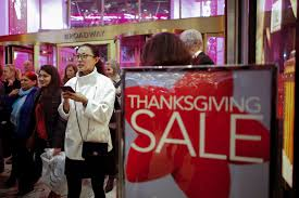 thanksgiving shopping online stores open on thanksgiving fewer shoppers annoyed by trend money