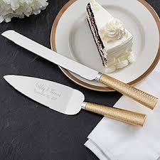 Wedding Gift Knife Set Gold Hammered Engraved Cake Knife U0026 Server Set Cake Knife Gold