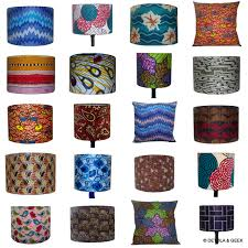 colourful african wax print fabric lampshades home decor colourful african wax print fabric lampshades home decor designs maybe bold geometric