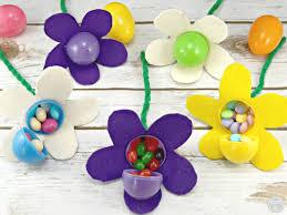 easter egg baskets to make diy easter basket for the gardener candy filled easter egg flowers