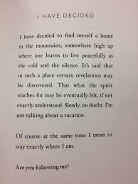How To Find A Home Decorator I Have Decided By Mary Oliver I Have Decided To Find Myself A