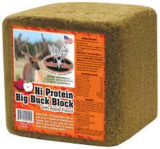 maurice sporting goods hi protein big buck block hunting