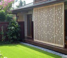 Privacy Backyard Ideas by Outdoor Privacy Screen Ideas Sunshine Divider Nice Pinterest