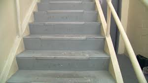 how to fix slippery stairs