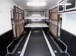 happijac bed enclosed trailers millennium trailer for sale 0005