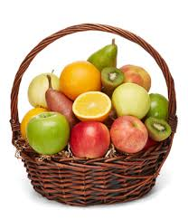 basket of fruit deluxe fruit basket at from you flowers