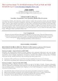 Business Analyst Resume Template Ba Resume Sle Thebridgesummit Co