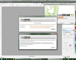 coreldraw x5 not starting download and error when starting and closing x5 coreldraw graphics