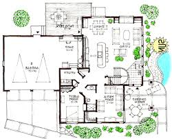 contemporary home floor plans contemporary brick house homepeek
