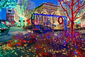 fayetteville square christmas lights fayetteville explore northwest arkansas local treasure hunt