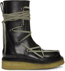 classic biker boots rick owens for women fw17 collection ssense