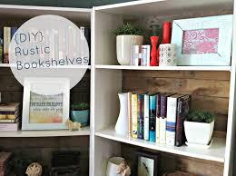 it u0027s our pinteresting life diy rustic bookshelves