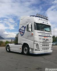 2013 volvo truck volvo fh4 globetrotter 2013 present roof bar u0026 leds u0026 9