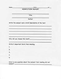 book report template 3rd grade reference page in apa format