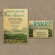 wedding invitations hawaii hawaii wedding invitation printable vintage hawaiian wedding