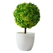 artificial plants ball bonsai can washes decorative green plants