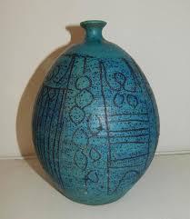 Studio Pottery Vase Maurice Grossman Studio Pottery Vase At 1stdibs
