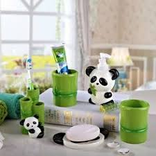 5 Piece Bathroom Set by Kerchair Rabbit Monkey Penguin Panda Dolphin Animal 5 Piece