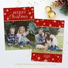 christmas card templates for photographers