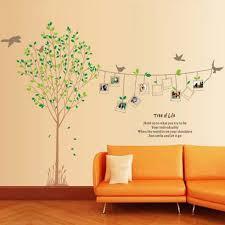 wall stickers xxl wall stickers xxl diy xxl 2pcs photo frame tree vinyl wall decals for living room