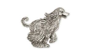 afghan hound arizona afghan hound dog charm and jewelry designs in silver and gold by