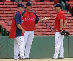 Baseball Bench Coach Duties Red Sox Name Whitman Hanson Grad Dana Levangie Interim Bench Coach