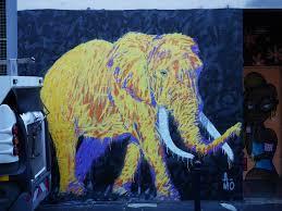 Bordeaux Street Art Elephants Crossing In Canihac Street A Mo Art