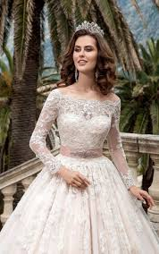 lace wedding gown sleeved lace wedding gowns cheap bridal dress with sleeves