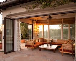 marvelous enclosed patio designs in small home interior ideas