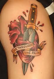 never again heart chest piece tattoo plans pinterest heart
