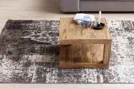 Wohnzimmertisch 100 X 60 Finebuy Couchtisch Massivholz Wohnzimmertisch 60 X 60 Cm Holztisch