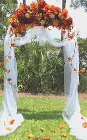 wedding arches decorated with tulle 36 fall wedding arch ideas for rustic wedding arch wedding and