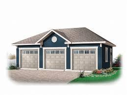 3 door garage three car garage plans traditional 3 car garage plan 028g 0028