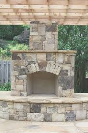fireplace simple prefabricated outdoor fireplace design